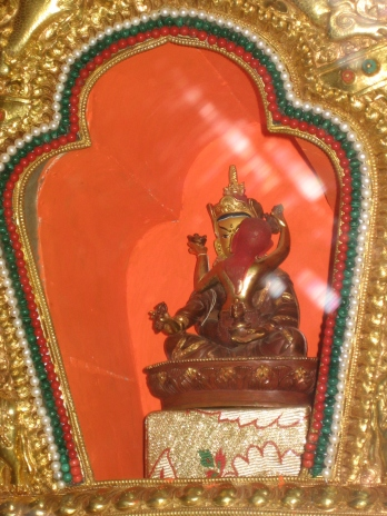 Padmasambhava and Yeshe Tsogyal in Yabyum