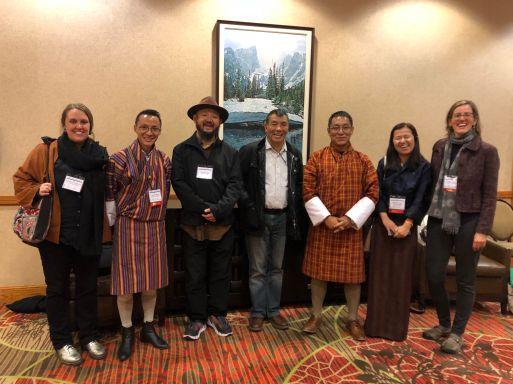 AAS Bhutan Panel - Group Shot